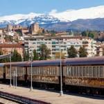 AVE y Estación del AVE en Granada.