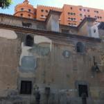 Daños fachada Igls. San Cecilio.