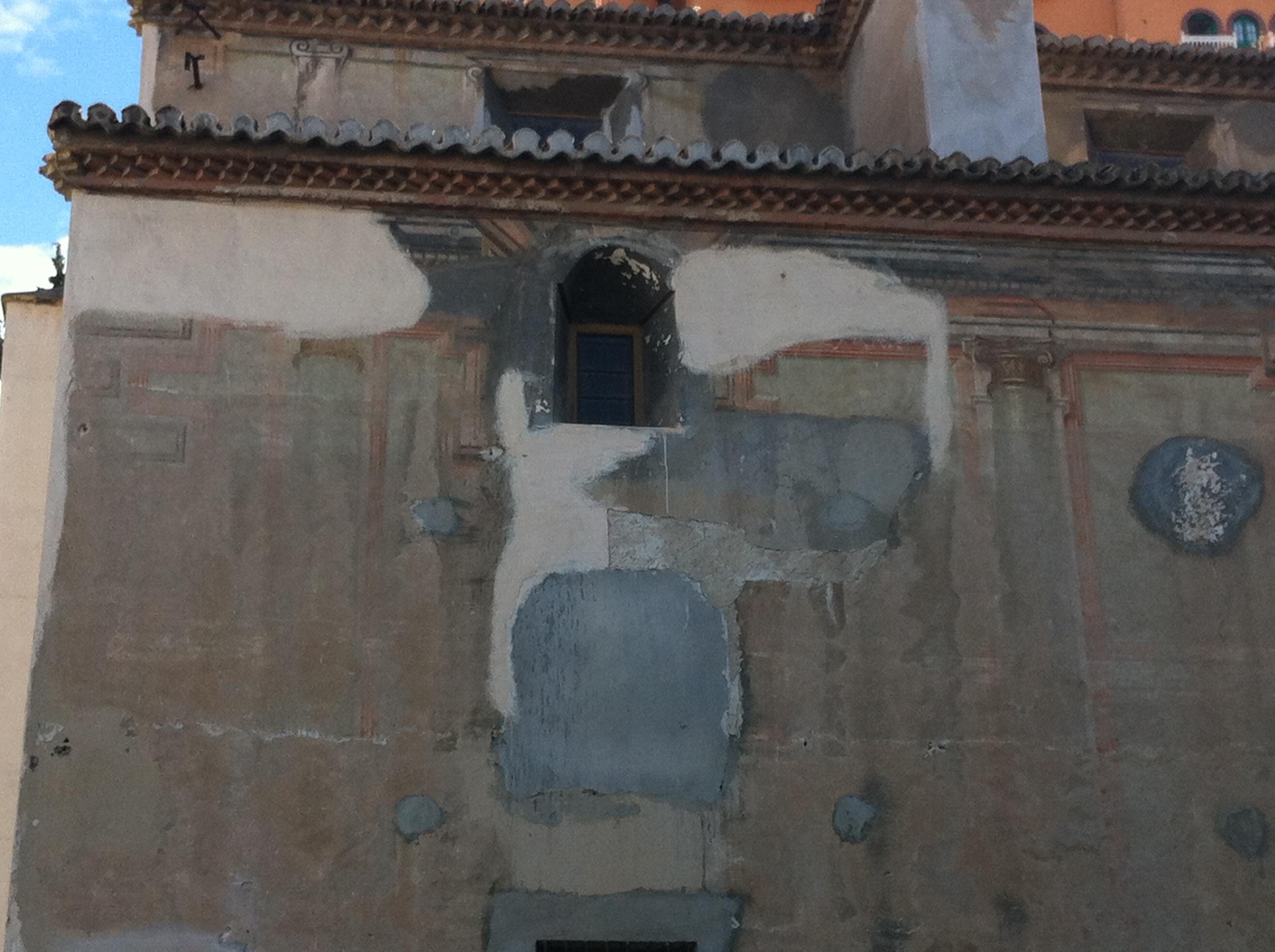 Daños en fachada